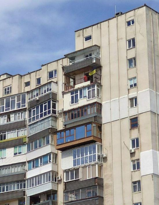 Ремонт ведется на предпоследнем этаже / фото sport.ua1