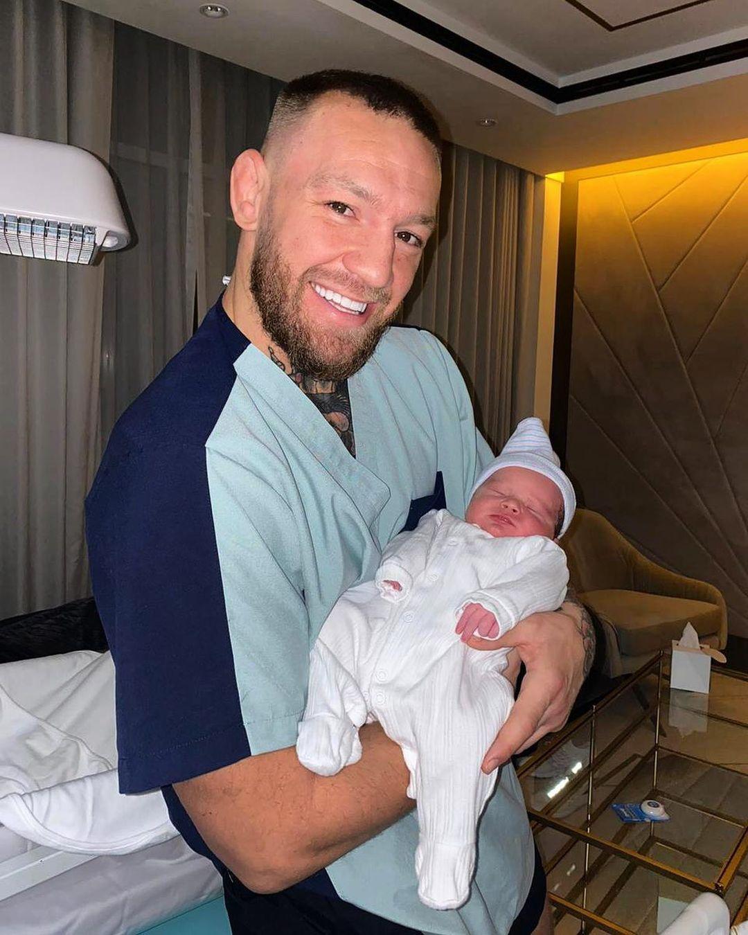 Макгрегор снова стал отцом / фото instagram.com/thenotoriousmma1